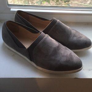 Grey Slip-on Sneakers